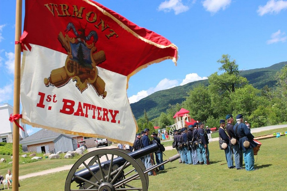 Colors of the 3rd Vermont Light Artillery