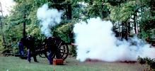 1st VT Light Artillery Firing!